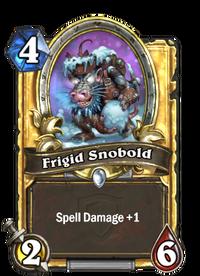 Golden Frigid Snobold