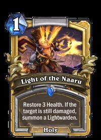 Golden Light of the Naaru