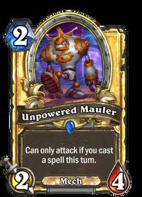 Golden Unpowered Mauler