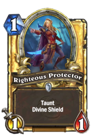 Golden Righteous Protector