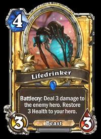 Golden Lifedrinker