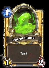 Golden Putrid Slime