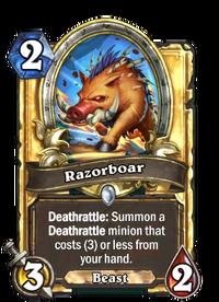 Golden Razorboar
