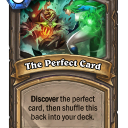 The Perfect Card