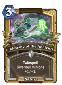 Golden Blessing of the Ancients