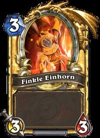 Golden Finkle Einhorn