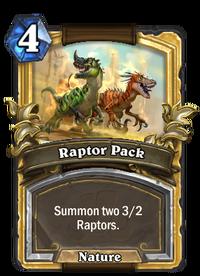 Golden Raptor Pack