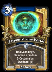 Golden Serpentshrine Portal