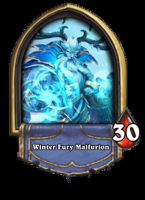 Winter Fury Malfurion
