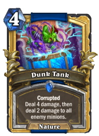 Golden Dunk Tank