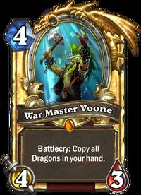 Golden War Master Voone