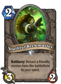 Youthful Brewmaster