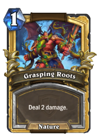 Golden Grasping Roots