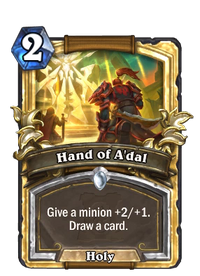 Golden Hand of A'dal