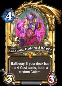 Golden Kazakus, Golem Shaper