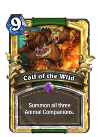 Call Of The Wild Event Hearthstone Wiki