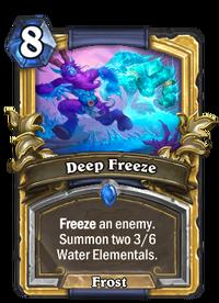 Golden Deep Freeze