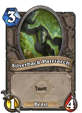 Silverback Patriarch Hearthstone Heroes Of Warcraft Wiki