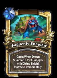 Golden Suddenly Snapjaw