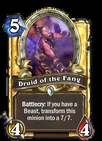 Golden Druid of the Fang