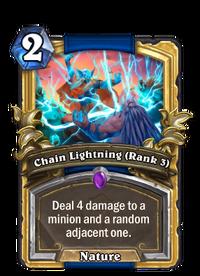 Golden Chain Lightning (Rank 3)
