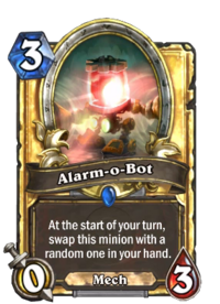 Golden Alarm-o-Bot