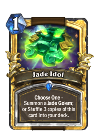 Golden Jade Idol