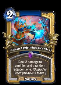 Golden Chain Lightning (Rank 1)