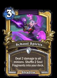 Golden School Spirits