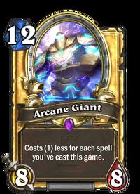 Golden Arcane Giant