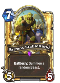 Barrens Stablehand(90687) Gold.png