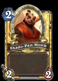 Golden Shado-Pan Monk