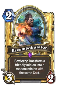 Golden Recombobulator