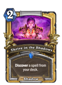 Golden Thrive in the Shadows