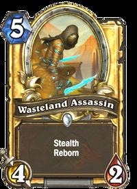 Golden Wasteland Assassin