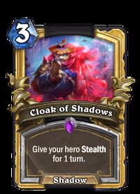 Golden Cloak of Shadows