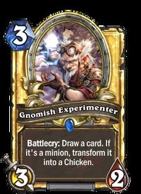 Golden Gnomish Experimenter