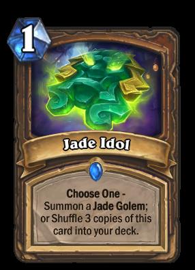 Crafting Jade Idol