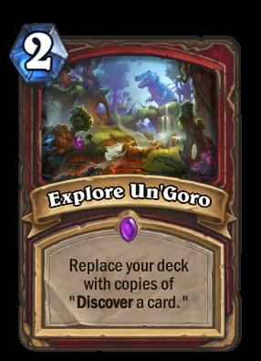 Un Goro Crafting Guide Reddit