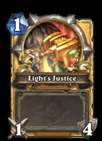 Golden Light's Justice