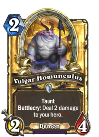 Vulgar Homunculus(76925) Gold.png