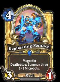 Golden Replicating Menace