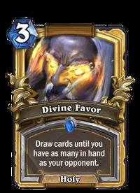 Golden Divine Favor