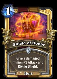 Golden Shield of Honor