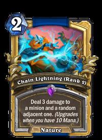 Golden Chain Lightning (Rank 2)
