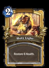 Golden Holy Light