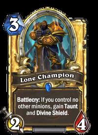 Golden Lone Champion