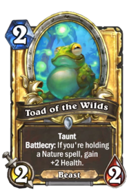 Golden Toad of the Wilds