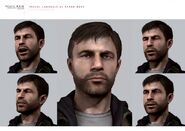 Ethan Mars Facial Expressions