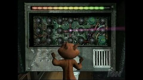 Over the Hedge GameCube Gameplay - Code Breaking.